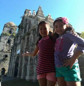Caption: Paoay Church – National Cultural Treasure, UNESCO World Heritage Site. Can be a quick historical stop before heading to Paoay Sand Dunes and Herencia Restaurant.