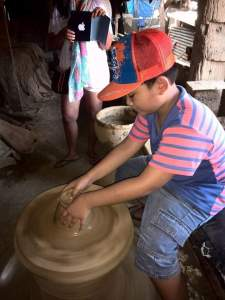 Pagburnayan Pottery – make sure you don't go in with another tour group so you can watch the potter's demonstration minus distraction. The kids can also be picked to try pottery with their own hands.