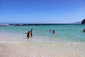 Pagudpud Beach – Hannah's Resort had countless animals, movie characters and dinosaur sculptures around the pristine white sand, thus, it is considered the Boracay of the North.
