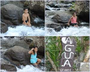 Agua Grande Resort – rarely visited due to cold water where river meets the sea. Natural pond is kids-friendly, just make sure they stay away from walking or jumping around large boulders of rocks around it.