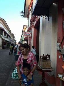 Irene's Vigan Empanada – kids fave foodie: Tinubong – it's like tupig in a foot-long bamboo trunk, empanada – put Calle Crisologo on the map for its original and rich ingredients/taste, Carioca – my kids ate sticks and sticks of carioca. Can pass for butsi or sweet, sticky munchkins on a stick.