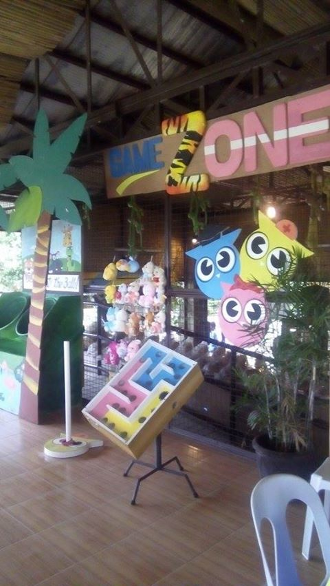 Gamezone – second level offers a reprieve from the sun and will let the kids enjoy different arcade-type games.