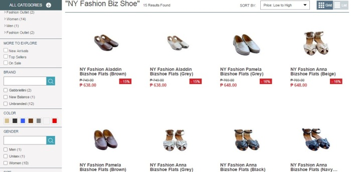 Will most likely go online again to try ShoeBiz's shoes collection perfect for my mommy errands.