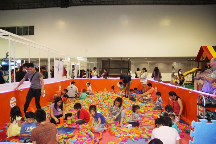 Baby and Family Expo Philippines' World of Fun where children enjoy fun and exciting rides and games at the expo