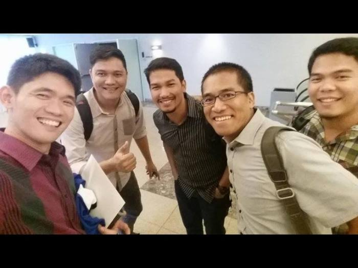 Ptr. Ferdie Cabiling (2nd from the right) with Victory Novaliches Senior Pastor Richard Lee, Ptr. Dems Villanueva, Ptr. Hener Omadto and Ptr. Jaylord Pagadora