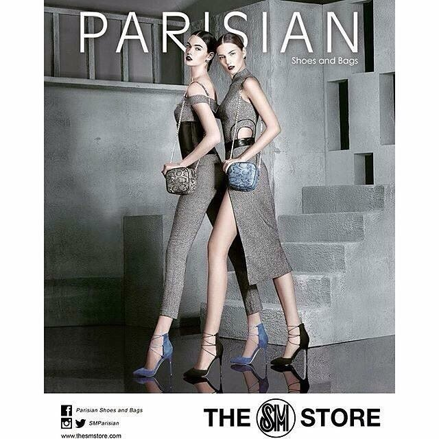 SM (Supermalls) ad campaign for Parisian shoes and bags